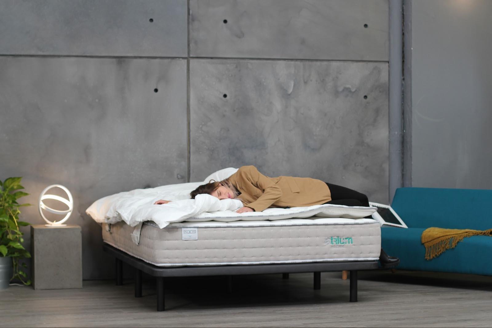 Base para colchón NIX Base con colchón NIX Tanit en habitación