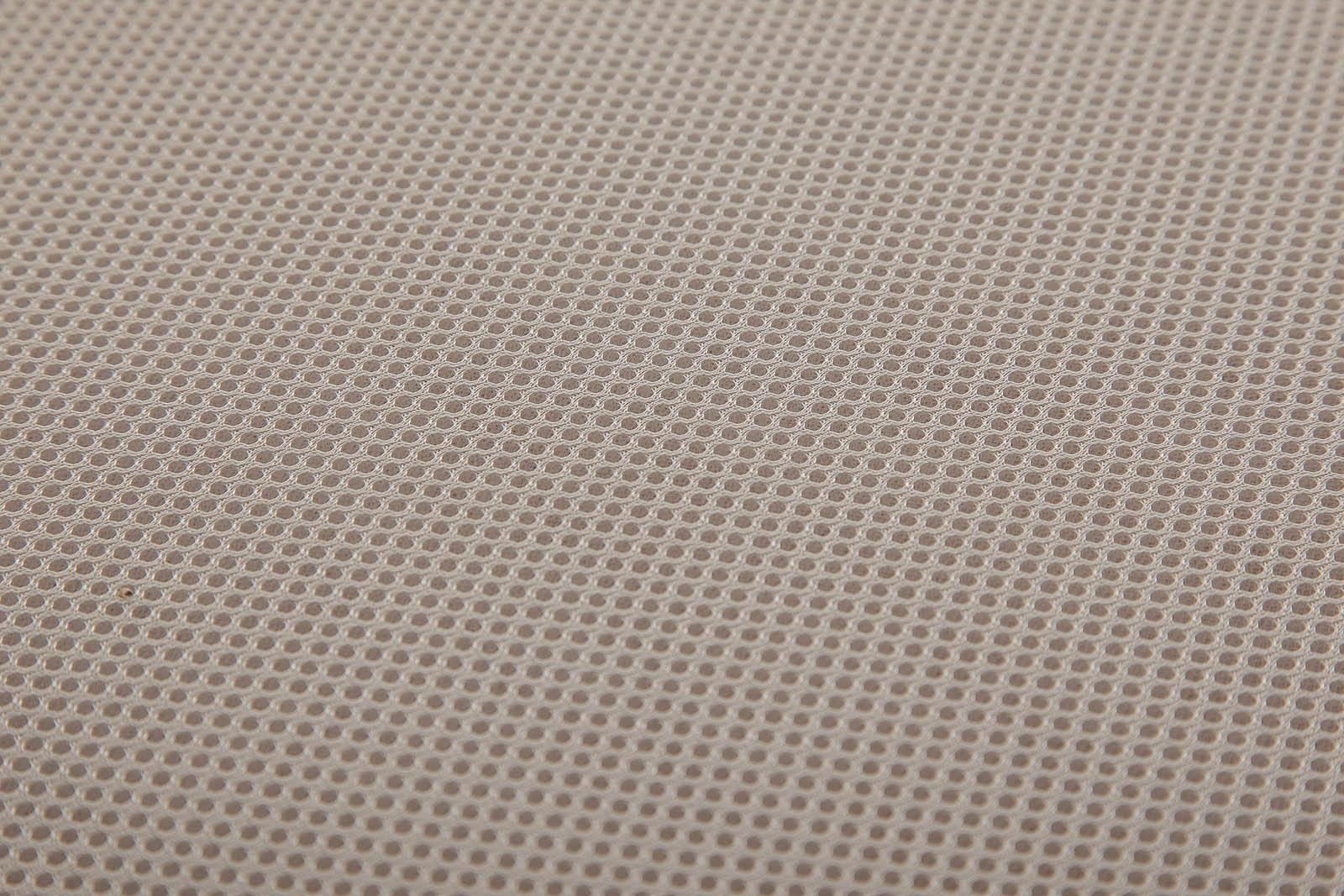 detalle malla 3d tejido canape abatible nix maia roble